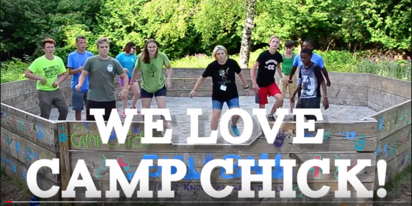 (VIDEO) We Love, We Love Camp Chick